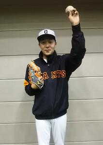 楽天を退団し来季から巨人打撃投手に就任する見込みの大塚尚仁氏