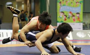 全日本選手権で初優勝した山梨学院大・小柳和也
