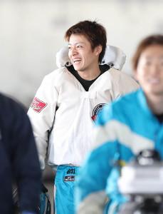 4RでSG初勝利を挙げた羽野直也