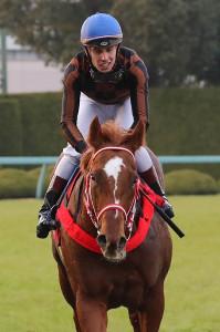 4連勝中のモズアスコット(C.デムーロ騎手)は4着