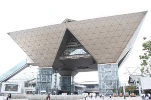 東京五輪開催時にプレスセンターとなる東京ビッグサイト