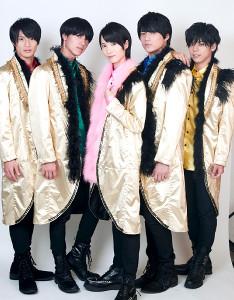 人組グループ「MAG!C☆PRINCE」(左から)平野泰新、阿部周平、西岡健吾、永田薫、大城光
