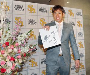 年俸4億円で契約を更改した柳田は、来季の目標に「キャリアハイ」を掲げた