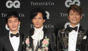 (左から)草なぎ剛、稲垣吾郎、香取慎吾