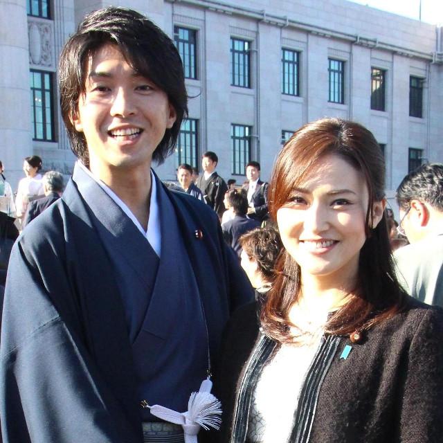 宮崎謙介、金子恵美夫妻