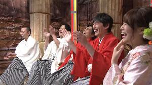 「落ちましておめでとうございます!落とし穴未経験の芸能人・落ち初め大連発SP」(C)テレビ東京