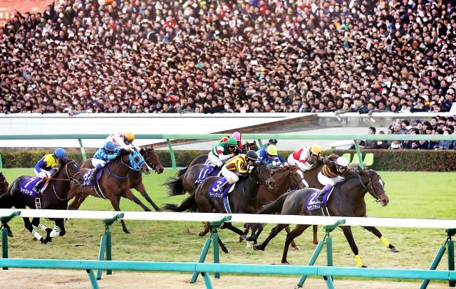 キタサンブラックが優勝した第62回有馬記念