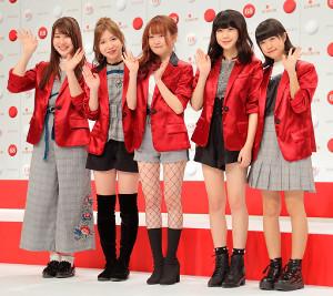 Little Glee Monsterの(左から)かれん、MAYU、芹奈、manaka、アサヒ