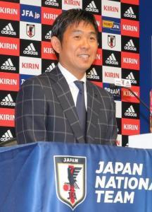 U−21日本代表メンバーを発表した森保監督