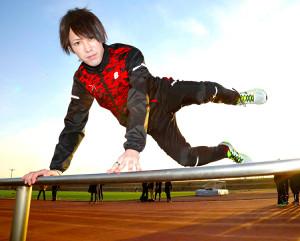 チームをけん引する上武大・井上弘也(カメラ・川口 浩)