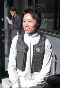 中山4R ラストランを3着で終えた平野騎手