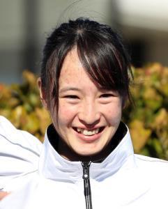 笑顔の藤田菜七子騎手