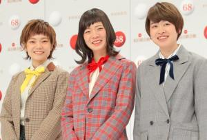 SHISHAMO(左から)松岡彩、宮崎朝子、吉川美冴貴