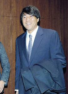 現役引退を表明した林昌範さん