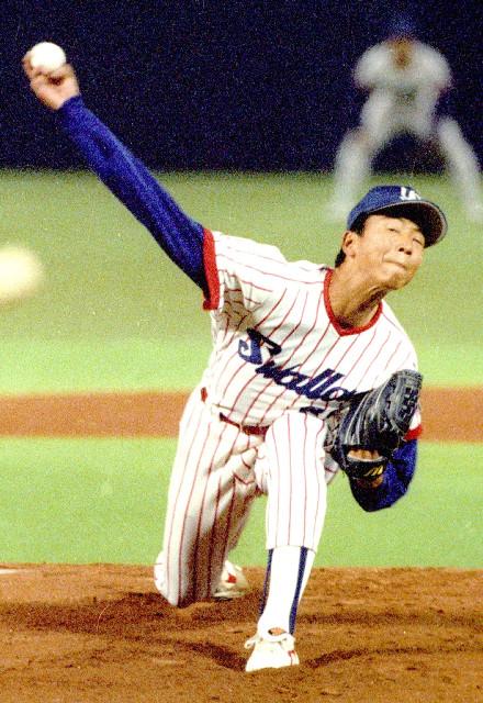 現役時代の伊藤智仁さん