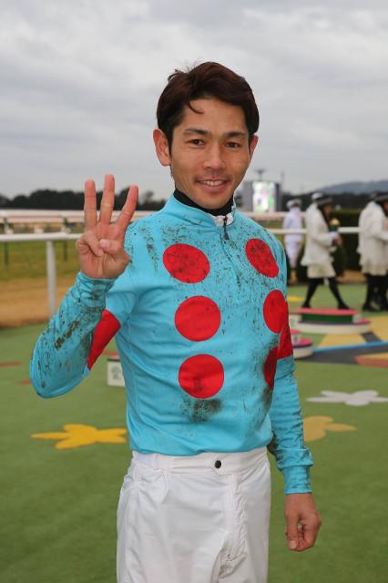 特別レース3連勝、重賞レース3連勝で開幕ダッシュを決めた戸崎圭太騎手