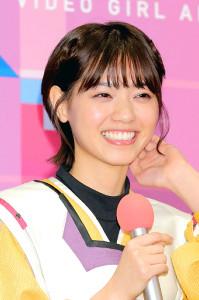 初の主演ドラマの会見に出席した「乃木坂46」の西野七瀬。役作りのため髪を20センチバッサリ(カメラ・小泉 洋樹)
