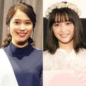 広瀬アリス(左)と広瀬すずの姉妹