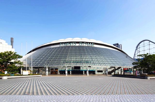 外観は30年前とあまり変わっていない現在の東京ドーム