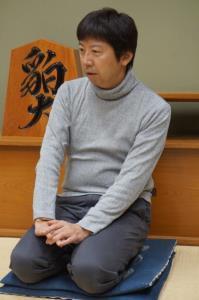 弟子の藤井聡太五段との師弟対決が決まり、意気込みを語った杉本昌隆七段