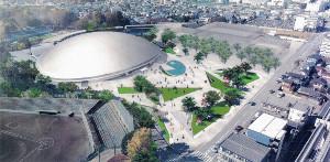 20年度までに千葉競輪場は自転車レースも可能な多目的アリーナに生まれ変わる(イメージ図)