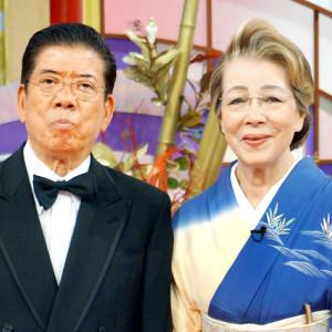 西川きよしと妻のヘレン