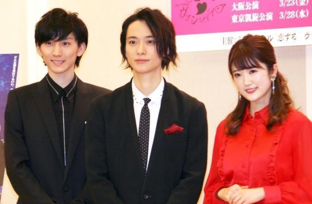 意気込みを語った(左から)京本大我、戸塚祥太、樋口日奈