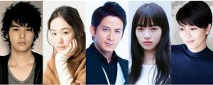 映画「来る」で共演する(左から)妻夫木聡、黒木華、岡田准一、小松菜奈、松たか子