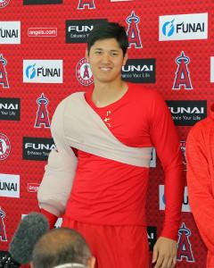 エンゼルスの大谷翔平投手