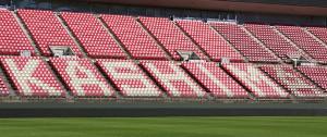 世界初となる芝の品種が採用されたカシマスタジアムのピッチ
