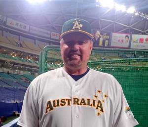 オーストラリア代表のディンゴことニルソン・コーチ