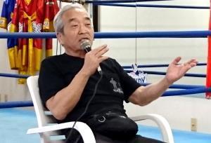 父・力道山の思い出を語る百田光雄