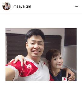 instagramより@maaya.gm