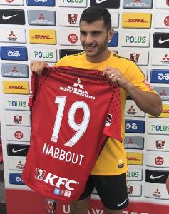 浦和に新加入したオーストラリア代表MFアンドリュー・ナバウトは背番号「19」