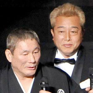 ビートたけし(左)とガダルカナル・タカ
