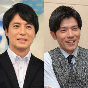 日テレ・桝アナ(左)と青木アナ