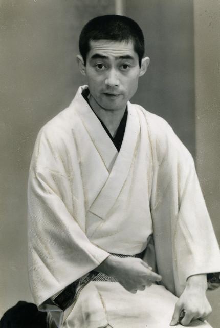 立川左談次さん(昭和57年撮影)