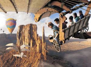 2019年度にTDSに導入予定の大型アトラクション「ソアリン」のイメージ(C)Disney