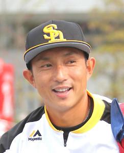 ソフトバンク・川崎宗則内野手