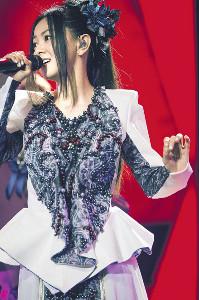 中国最大の音楽アワードに出席した倉木麻衣