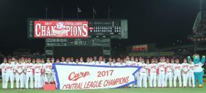 昨年のセ・リーグを制覇した広島