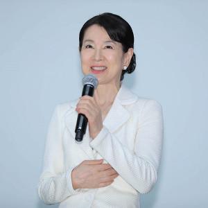映画「北の桜守」のイベントに登壇した吉永小百合