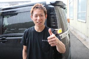 得意の山陽コースでまたも結果を残した佐藤貴也。常に前向きです
