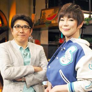 石橋貴明(左)とミッツ・マングローブ