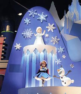 「アナと雪の女王」のシーン