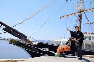 故郷・高知県で坂本龍馬をテーマにした最新曲「いごっそ魂」を披露した三山ひろし