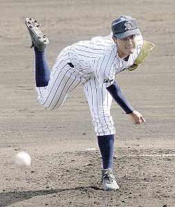 夏の甲子園出場を目指す埼玉栄・米倉貫太投手