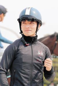ぶっつけ本番のダノンプレミアムで2勝目を目指す川田。無事が一番と強調した
