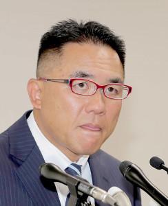 被害選手の父親・奥野康俊氏