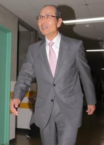 結婚を発表した王貞治会長(カメラ・岩下 翔太)